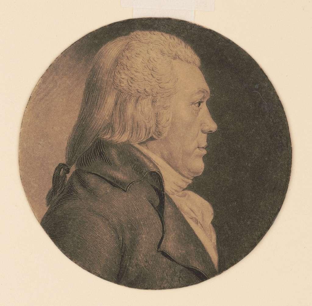 [Lewis Robert Morris, head-and-shoulders portrait, right profile]