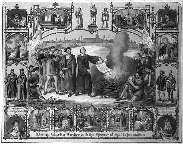 Life of Martin Luther and heroes of the reformation! / H. Breul ; original by H. Brückner.