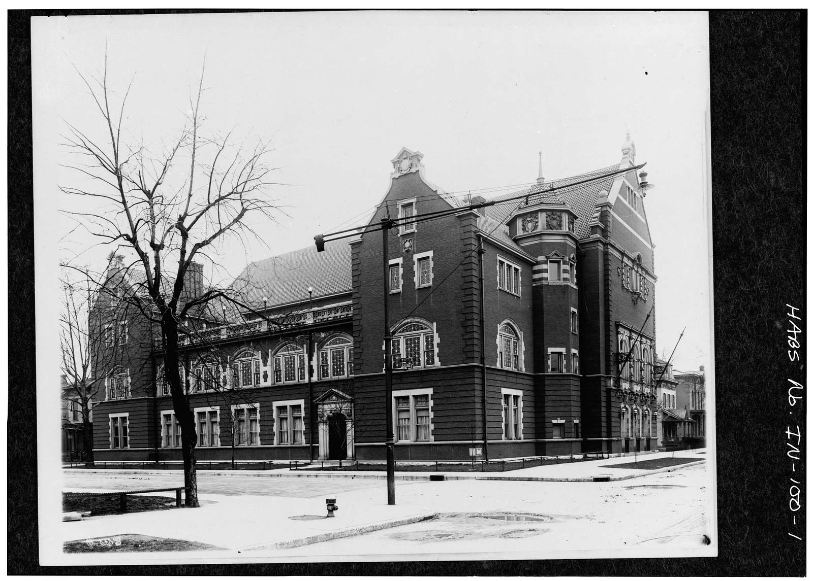 Maennerchor Building, 102 West Michigan Street, Indianapolis, Marion County, IN