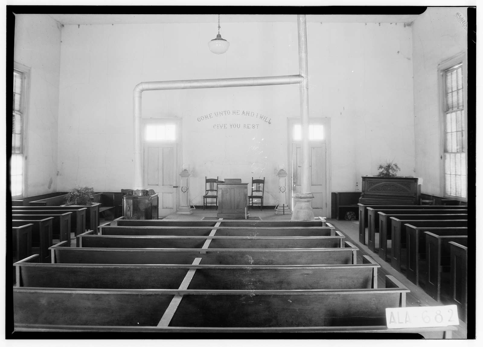 Methodist Church, State Route 143, Robinson Springs, Elmore County, AL