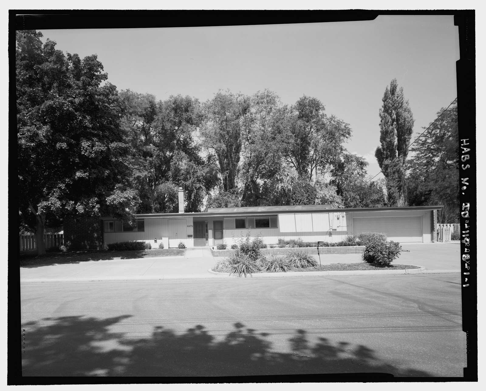 Mountain Home Air Force Base 1958 Senior Officers' Housing, General's Residence, Rabeni Street (originally Ivy Street), Mountain Home, Elmore County, ID