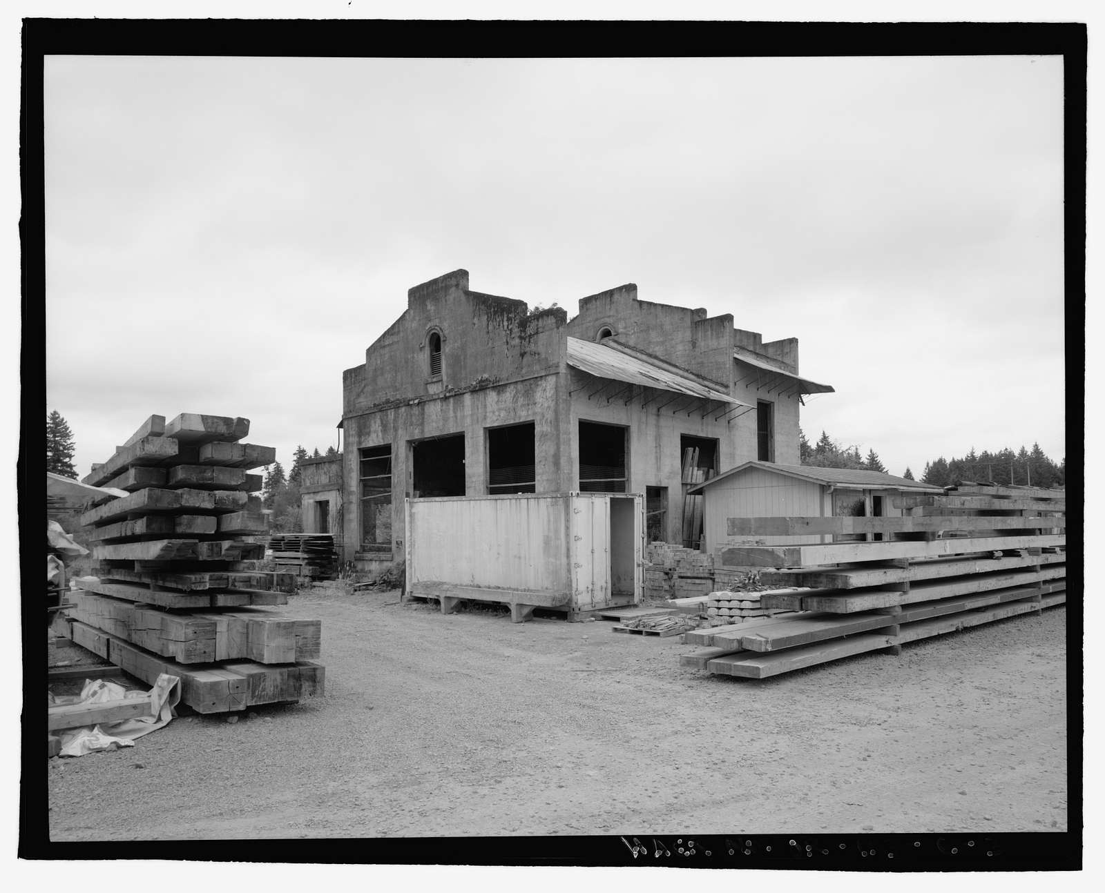 Oregon Electric Railroad, Tonquin Substation, Garden Home to Wilsonville Segment, Milepost 39.1, Wilsonville, Clackamas County, OR