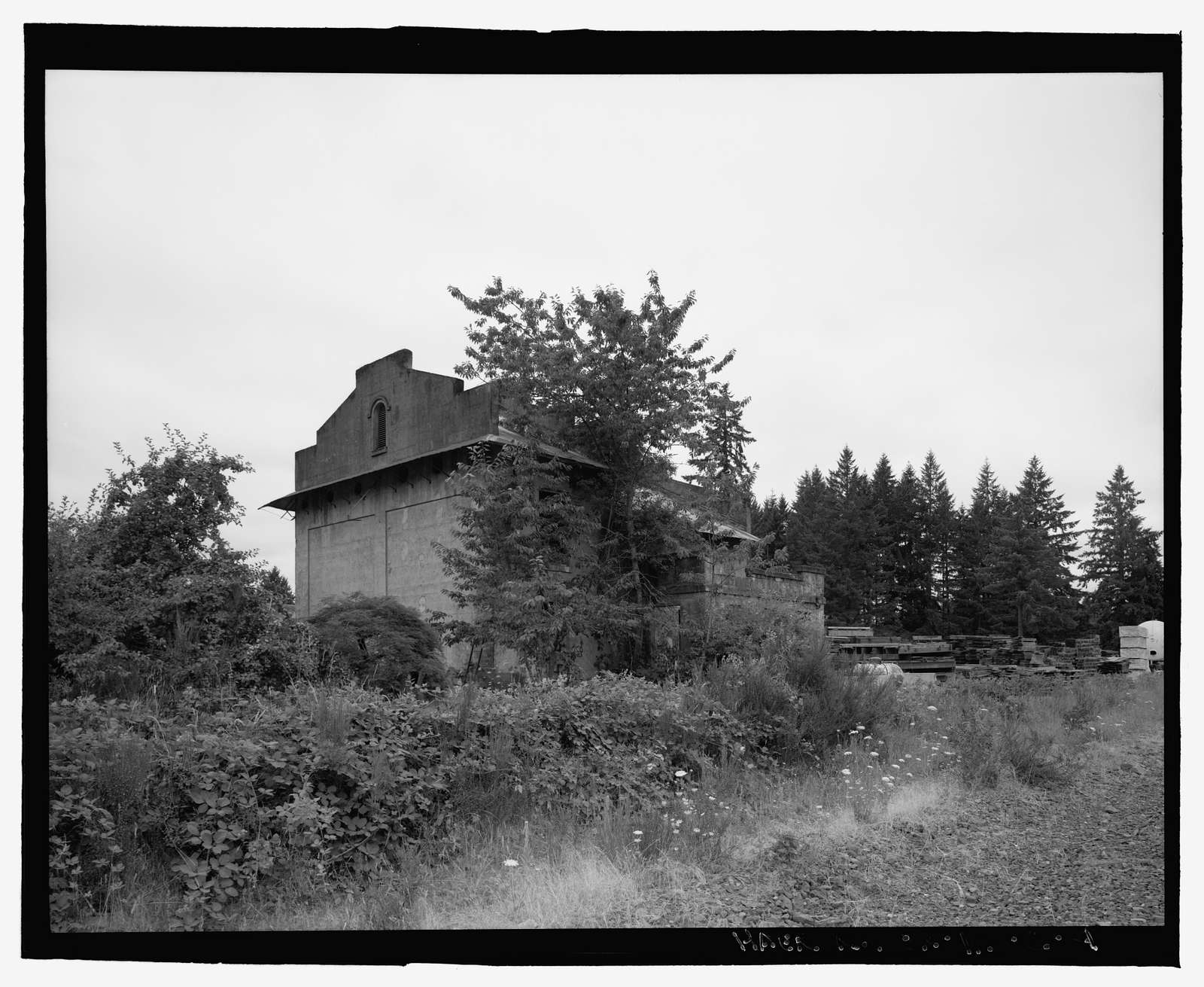 Oregon Electric Railroad, Tonquin Substation, Garden Home to Wilsonville Segment, Milepost 39.1, Wilsonville, Clackamas County, OR