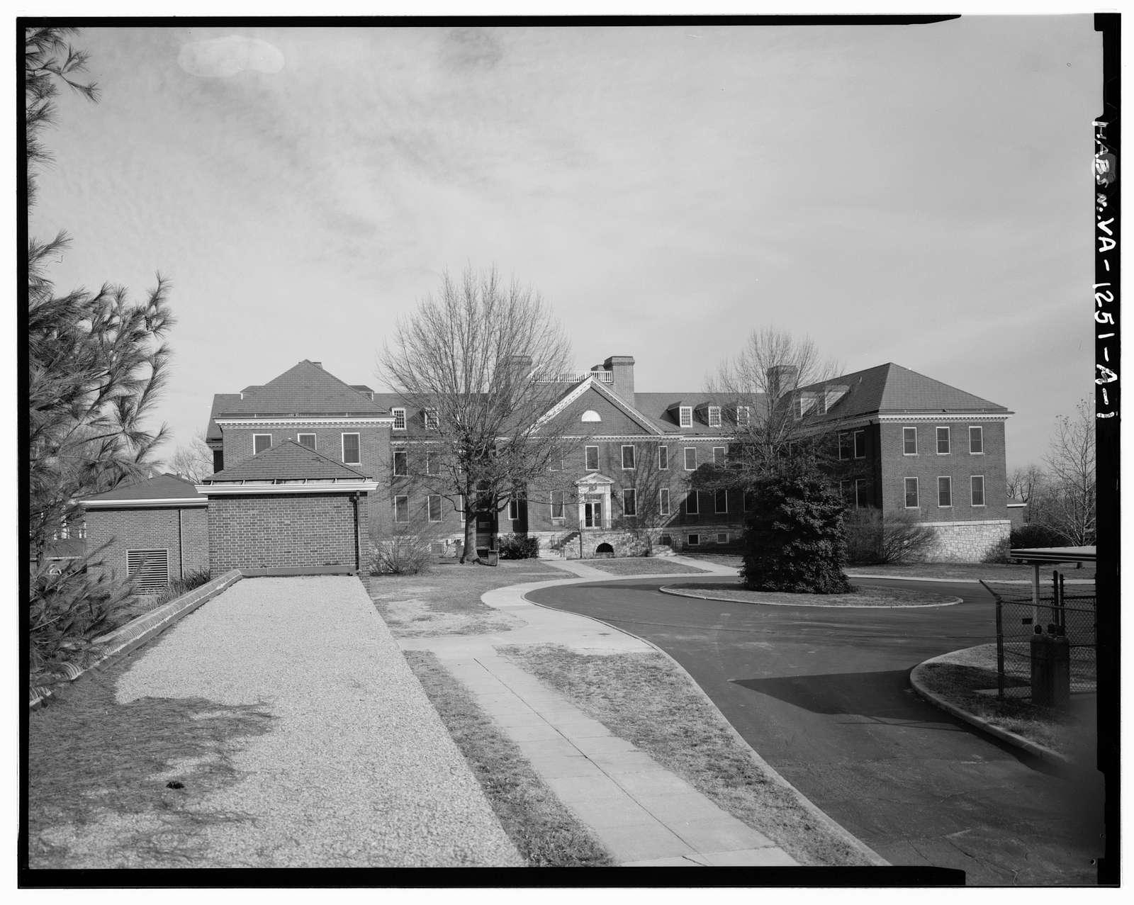 Roanoke Veterans Administration Hospital, Building No. 6, 1970 Roanoke Boulevard, Salem, Salem, VA