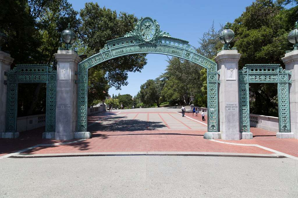 Sather Gate at University of California, Berkeley, California