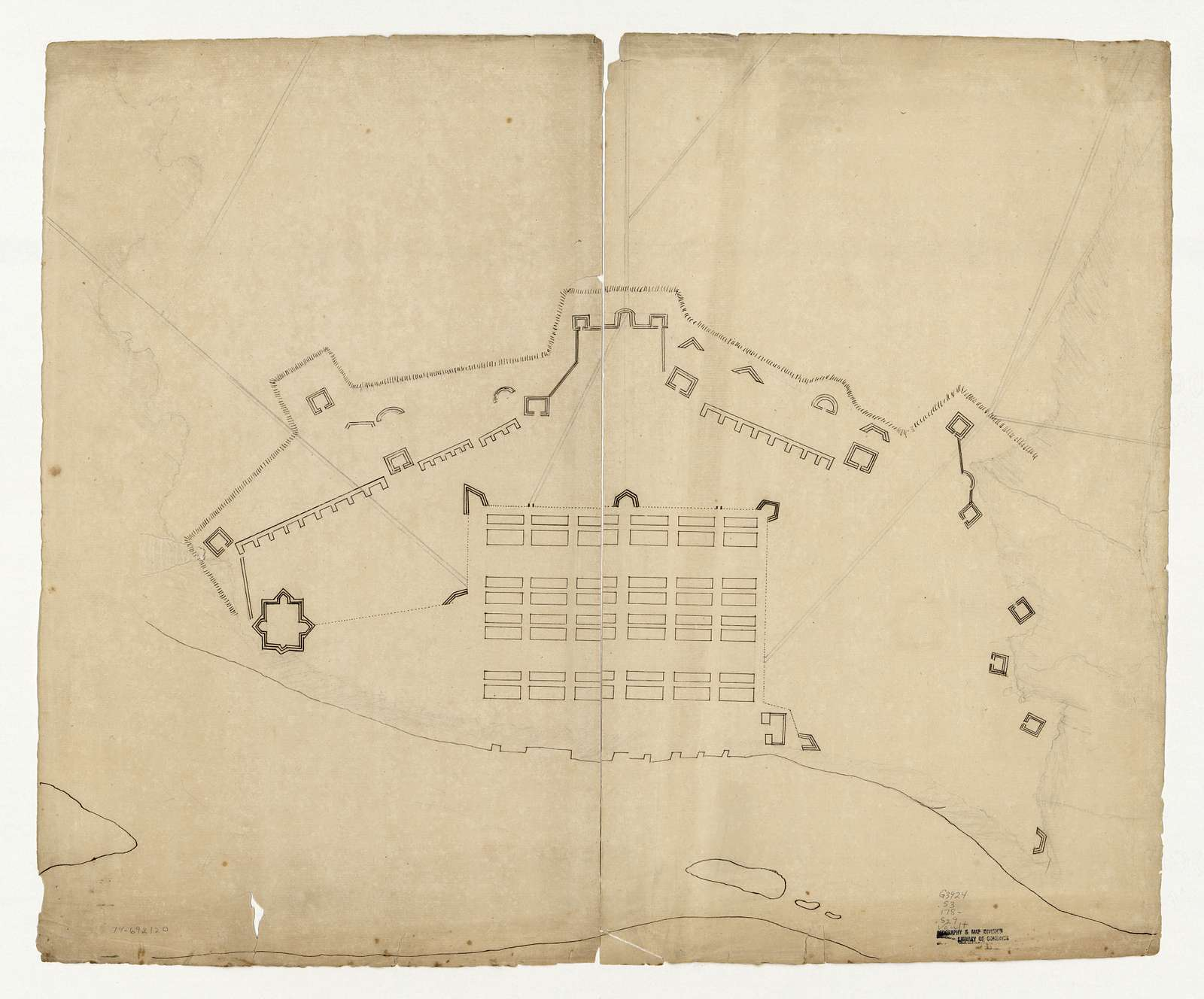[Savannah & its fortifications.