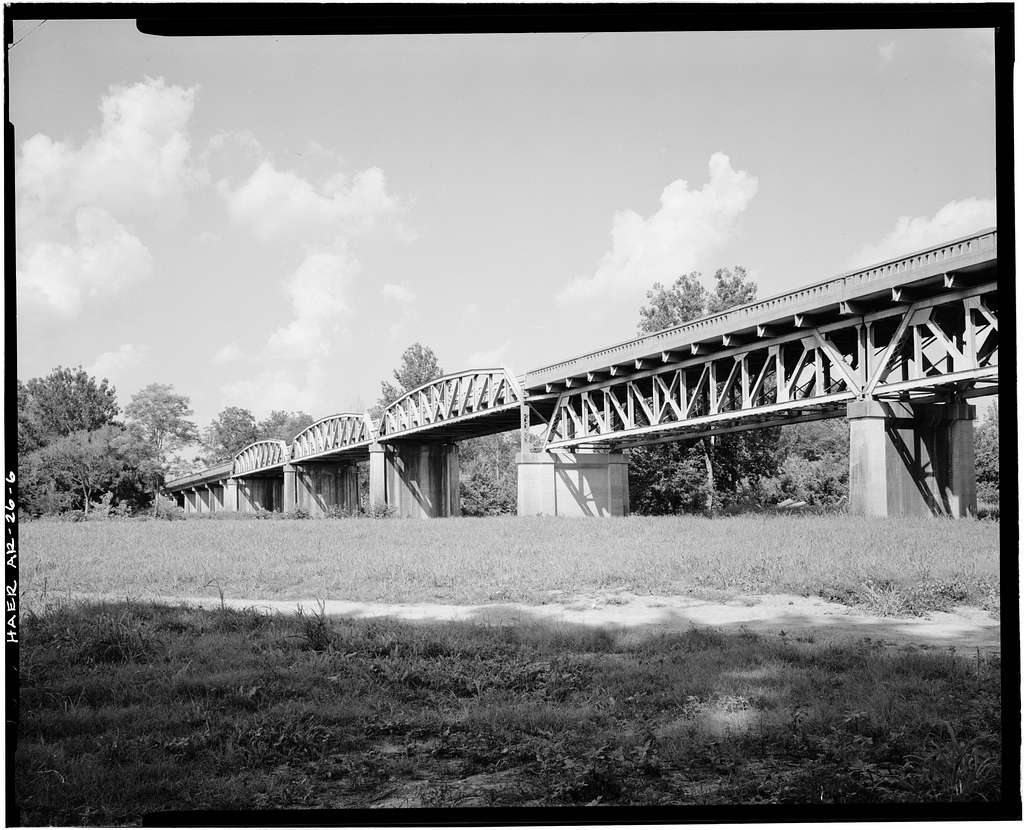 St. Louis - San Francisco Bridge, Spanning Spring River at U.S. Highway 62, Imboden, Lawrence County, AR