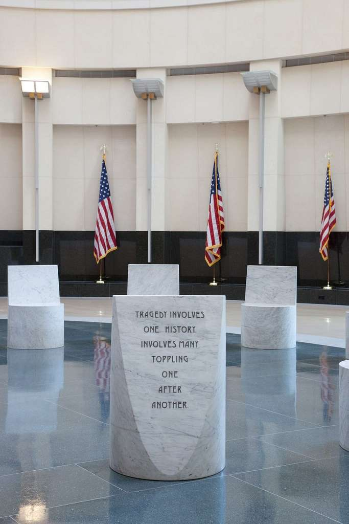 Untitled poetry at the Robert T. Matsui U.S. Courthouse, Sacramento, California