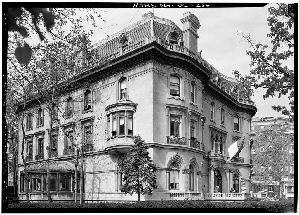 Walsh-Mclean House, 2020 Massachusetts Avenue Northwest, Washington, District of Columbia, DC