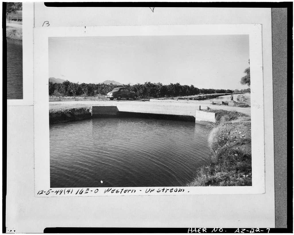 Western Canal, South side of Salt River between Tempe, Phoenix & Mesa, Mesa, Maricopa County, AZ
