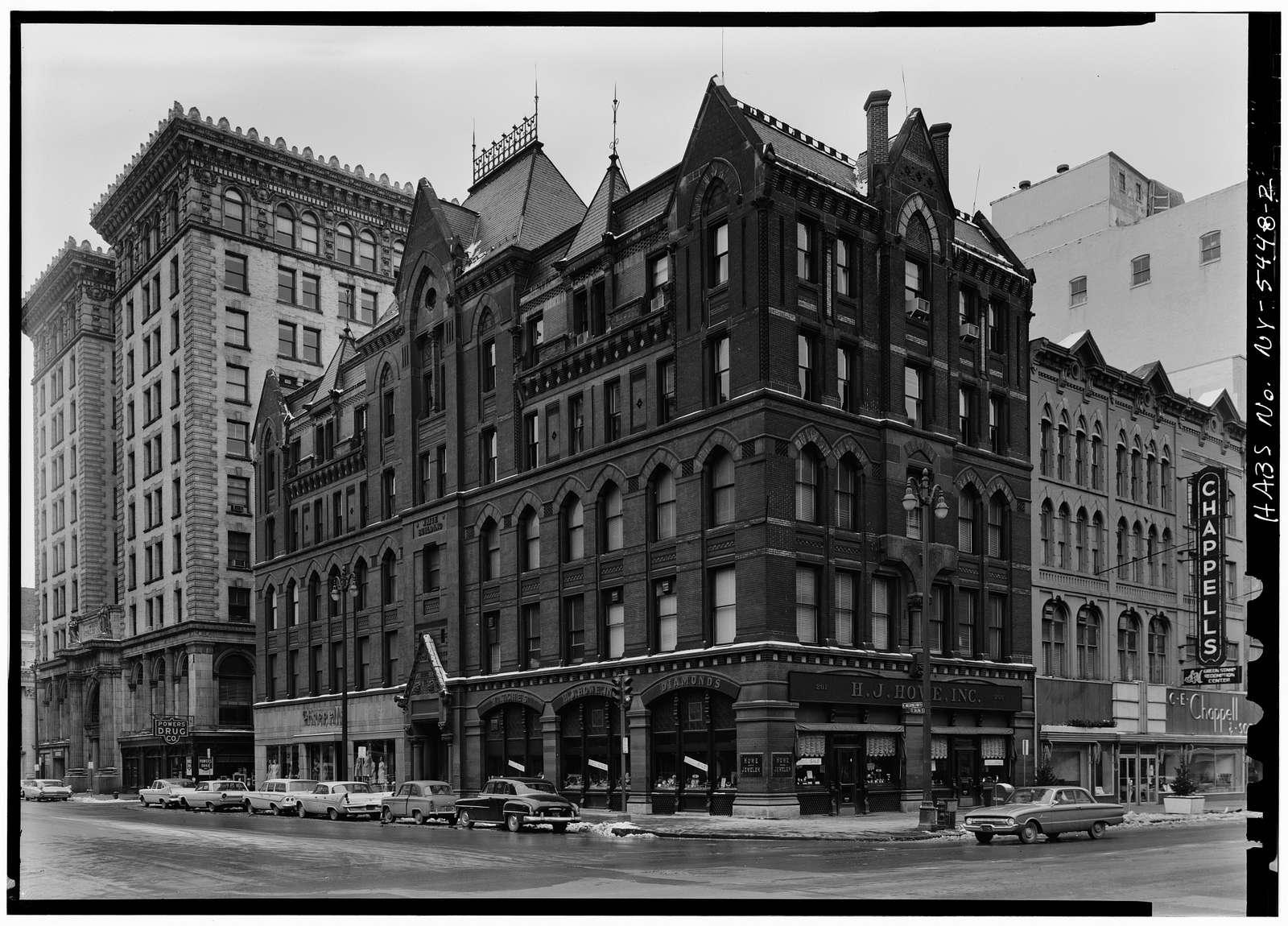 White Memorial Building, East Washington & South Salina Streets, Syracuse, Onondaga County, NY