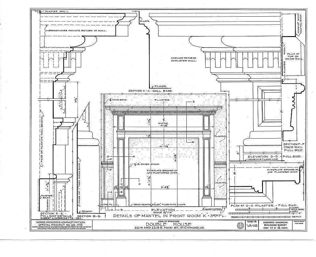 2216-2218 East Main Street (Double House), Richmond, Independent City, VA