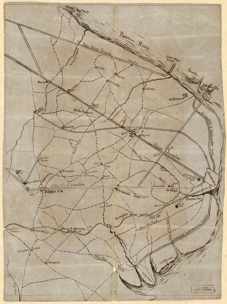A Civil War field map of Fairfax County, Virginia with Fort ... on map of appomattox county, map of amelia county, map of chicago county, map of greenwood county, map of rockbridge county, map of mccurtain county, map of freeborn county, map of prince william county schools, map of clarke county, map of new jersey county, map of renville county, map of vinton county, map of garvin county, map of grand isle county, map of woodford county, map of le sueur county, map of mahnomen county, map of independence county, map of rappahannock county, map of west marin county,