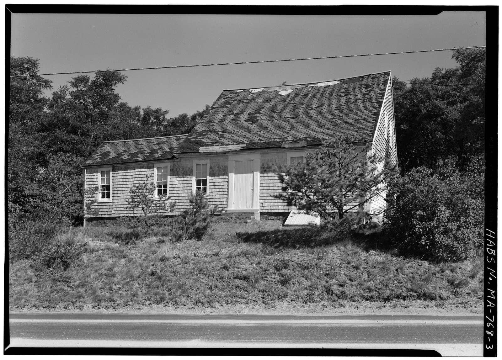 Ambrose Snow House & Cobbler Shop, North Pamet Road, Truro, Barnstable County, MA