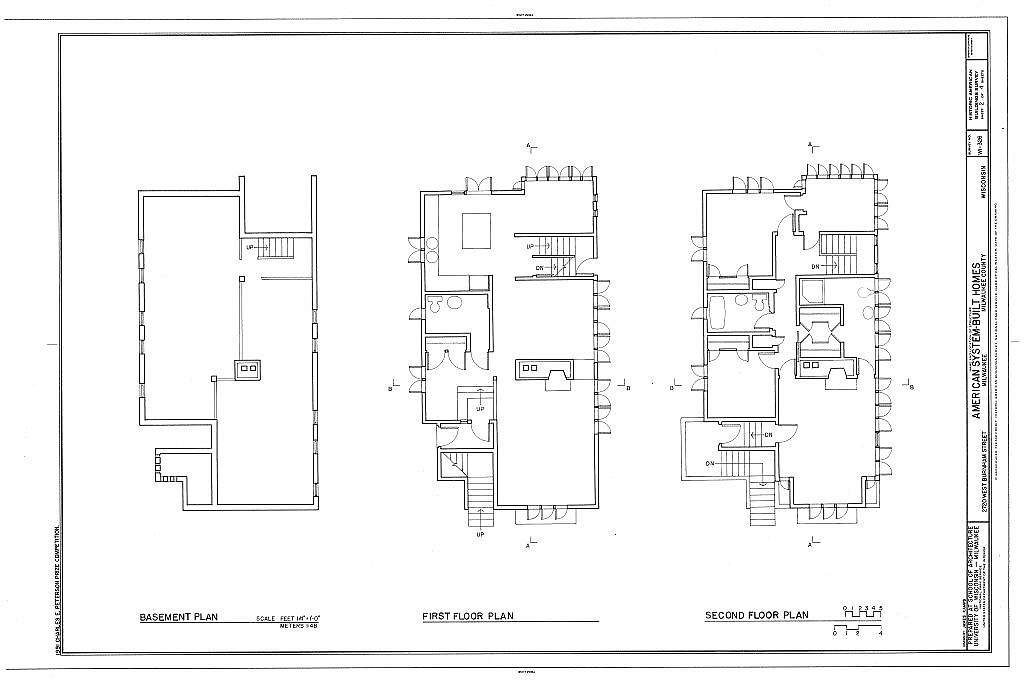 American System-Built Homes, 2720-22 West Burnham Street, Milwaukee, Milwaukee County, WI