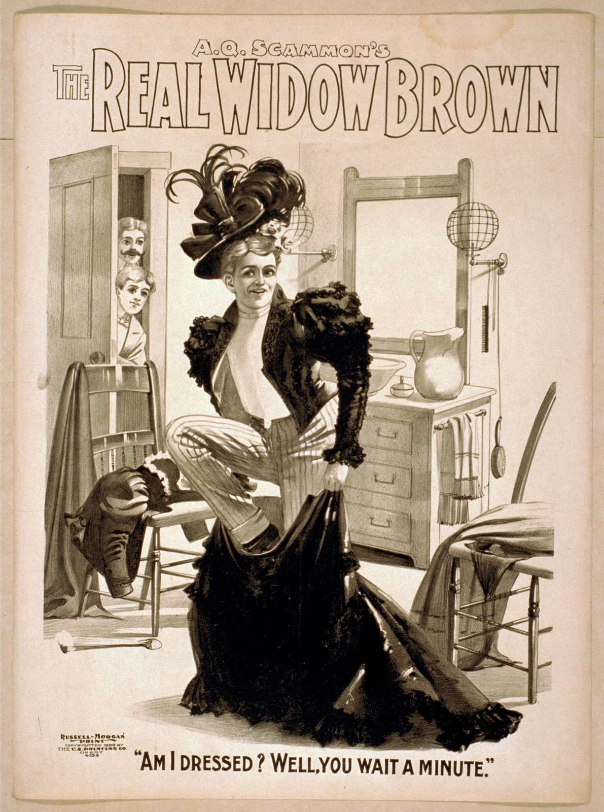 A.Q. Scammon's The real Widow Brown