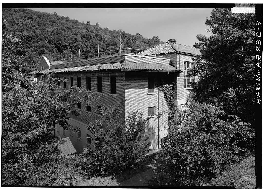 Bathhouse Row, Fordyce Bathhouse, Central Avenue, Hot Springs, Garland County, AR