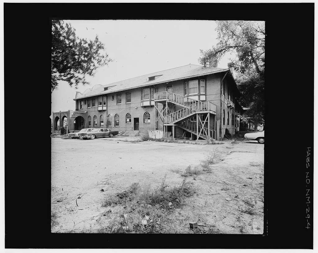 Castaneda Hotel, Railroad Avenue, Las Vegas, San Miguel County, NM