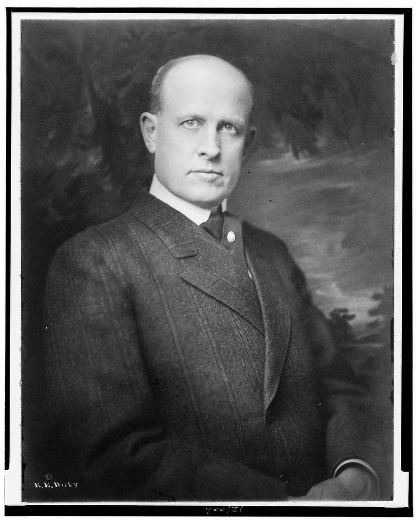 [Charles William Post, half-length portrait, facing slightly right]