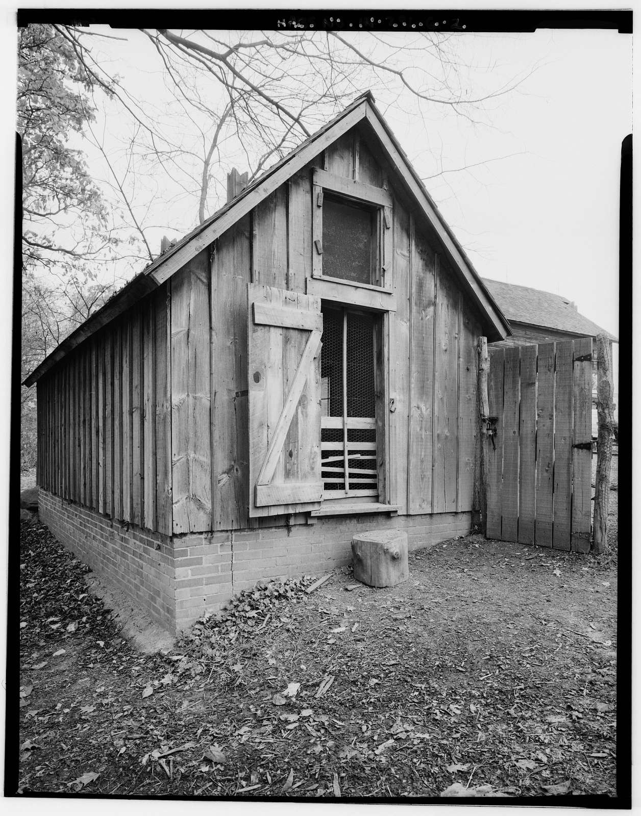 Chellberg Farm, Chicken Coop, 900 North Mineral Springs Road, Porter, Porter County, IN