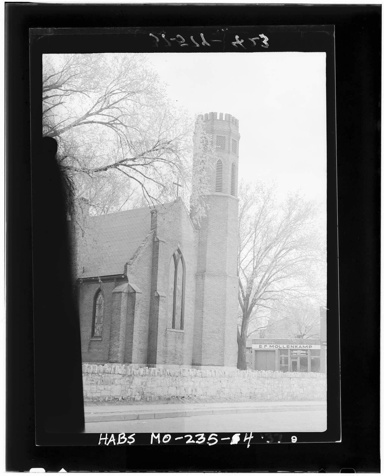 Christ Episcopal Church, Thirteenth & Franklin Streets, Lexington, Lafayette County, MO