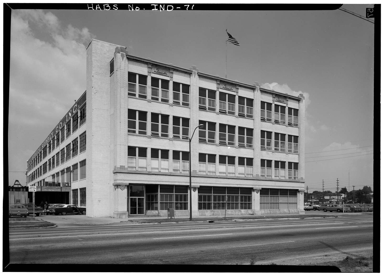 Cole Motor Car Company Factory, 730 East Washington Street, Indianapolis, Marion County, IN