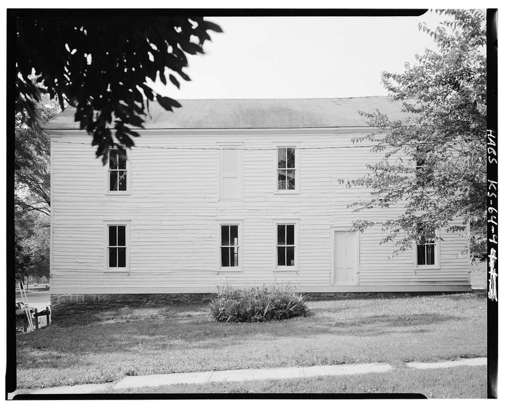 Constitution Hall, 315 Elmore Street, Lecompton, Douglas County, KS