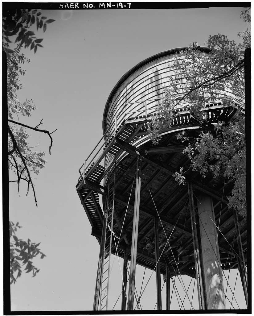 Elysian Water Tower & Engine House, Frank Street Northeast, Elysian, Le Sueur County, MN
