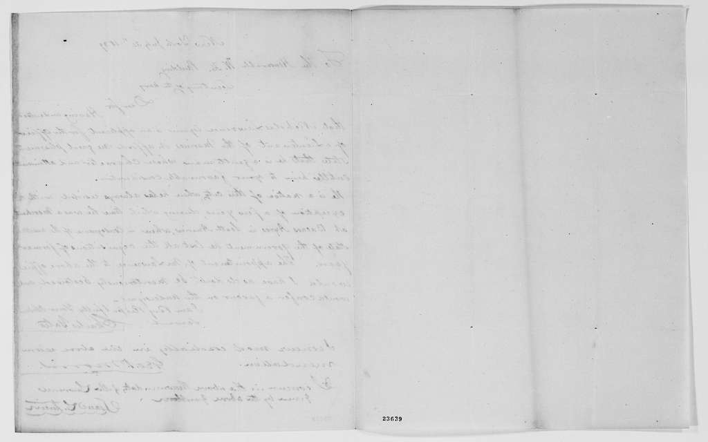Gideon Welles Papers: Records of the Navy Department, 1805-1878; 1837, Apr.-1840, Feb