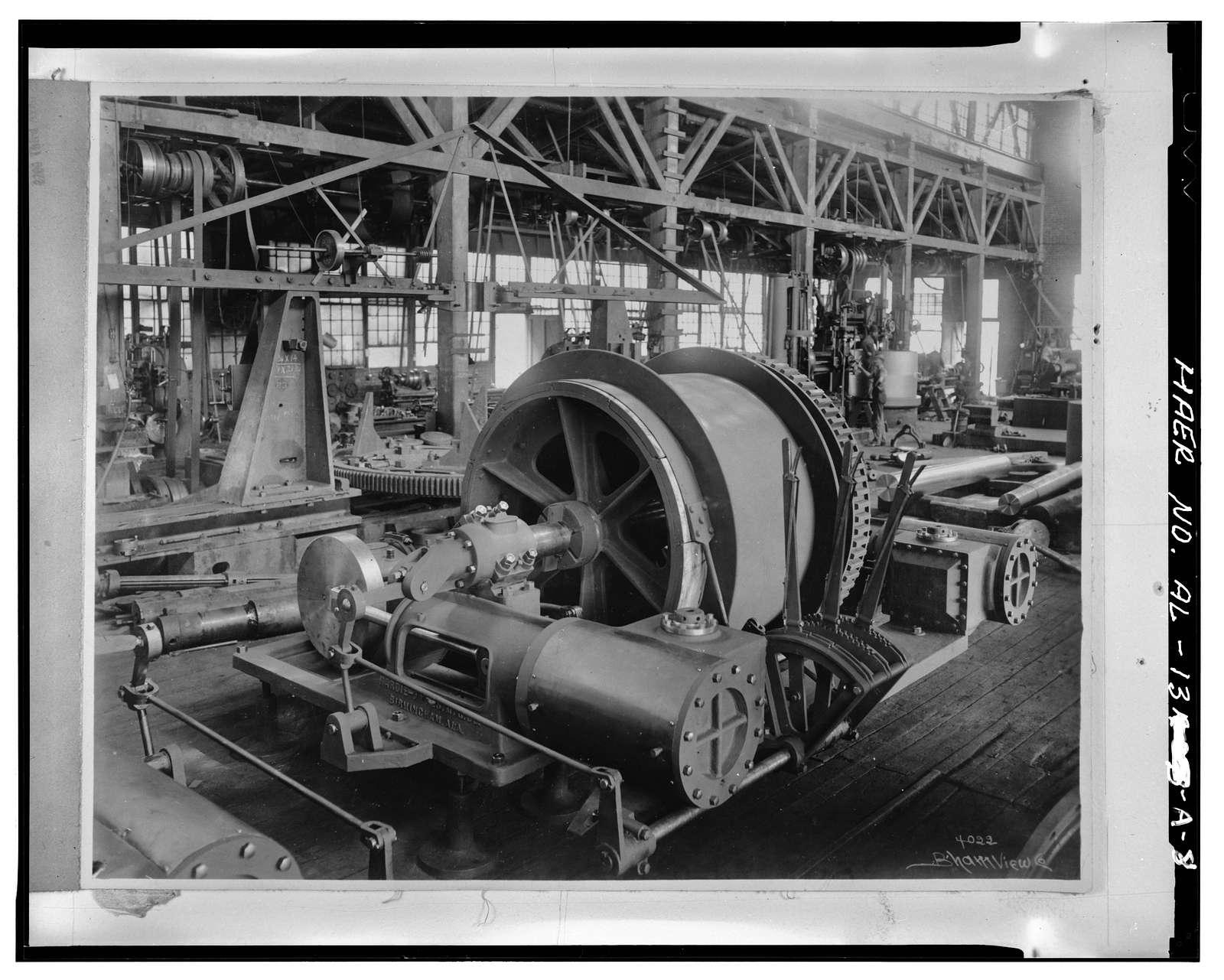 Hardie-Tynes Manufacturing Company, Workshop, 800 Twenty-eighth Street North, Birmingham, Jefferson County, AL