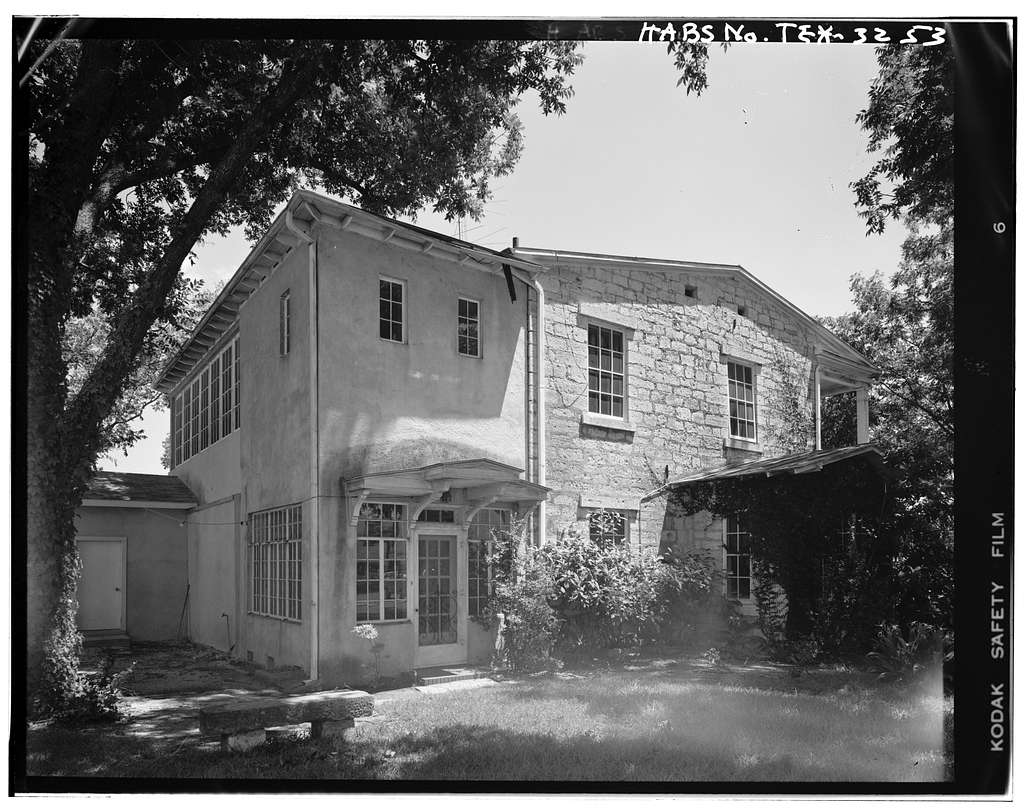 Heinrich Hinman House, Castell Avenue, New Braunfels, Comal County, TX