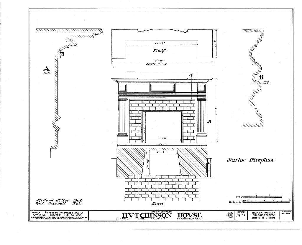 Hutchinson House, 155 East Main Street, Girard, Erie County, PA