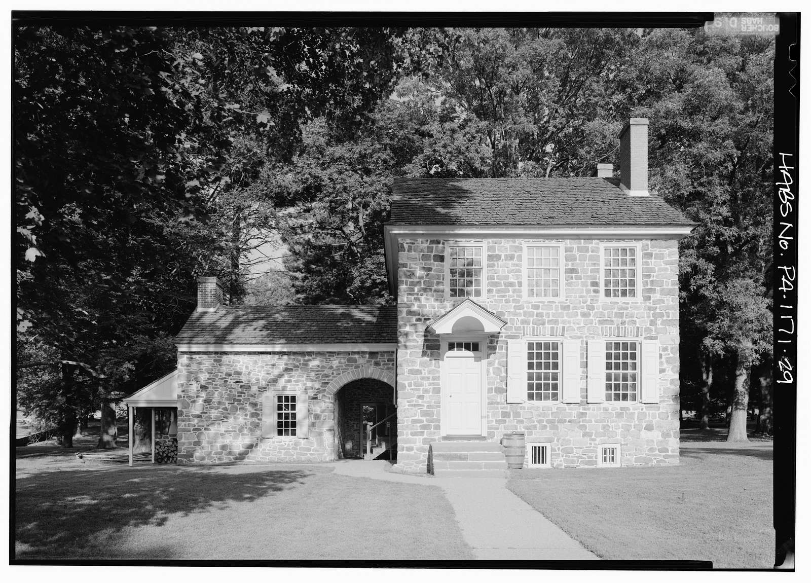 Isaac Potts House, South of Schuylkill River, King of Prussia, Montgomery County, PA
