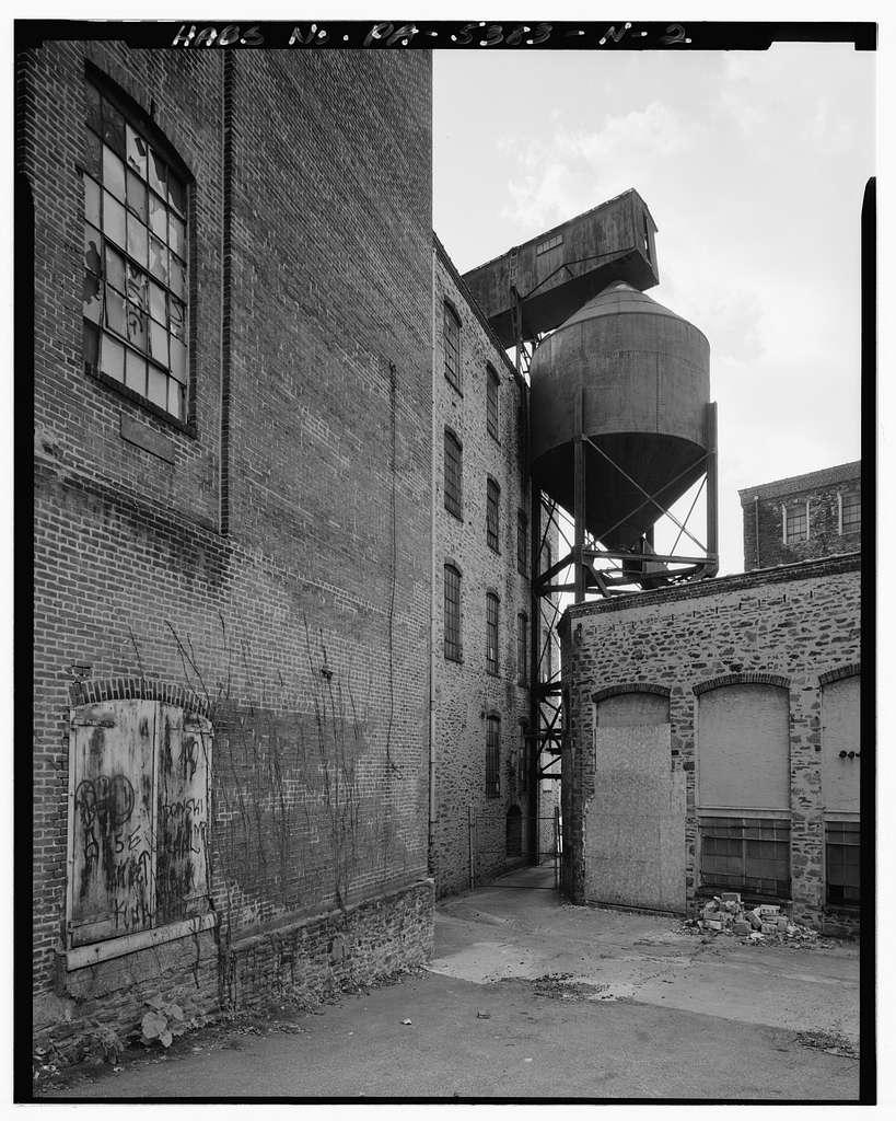 John & James Dobson Carpet Mill (West Parcel), Building No. 15, 4041-4055 Ridge Avenue, Philadelphia, Philadelphia County, PA
