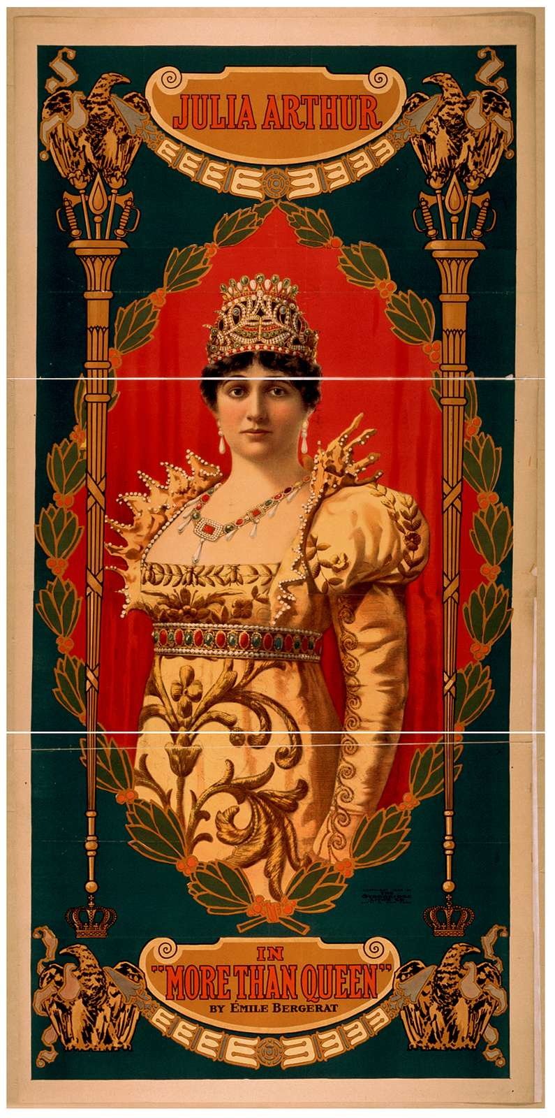 Julia Arthur in More than queen by Émile Bergerat.