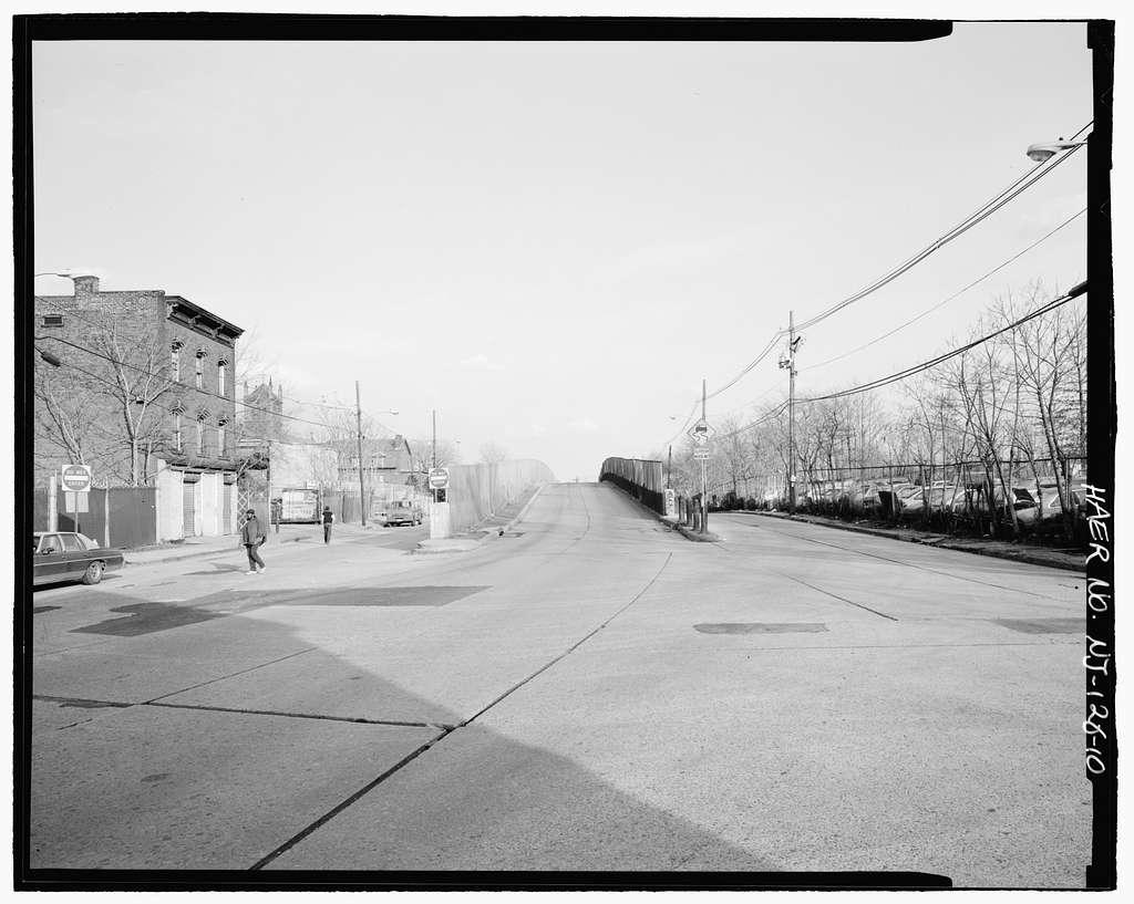 Magnolia Avenue Viaduct, Magnolia Avenue over U.S. Route 1 & 9, Elizabeth, Union County, NJ