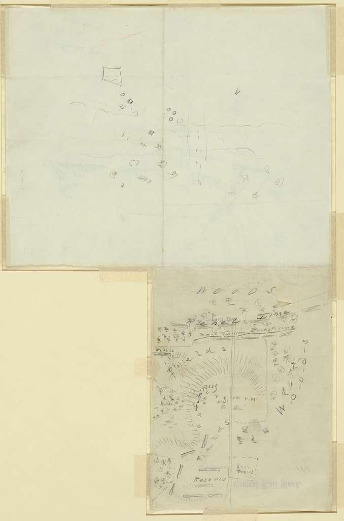 [Maps and diagrams of the Battle of Chickamauga, Ga. Sep 19 - 63]