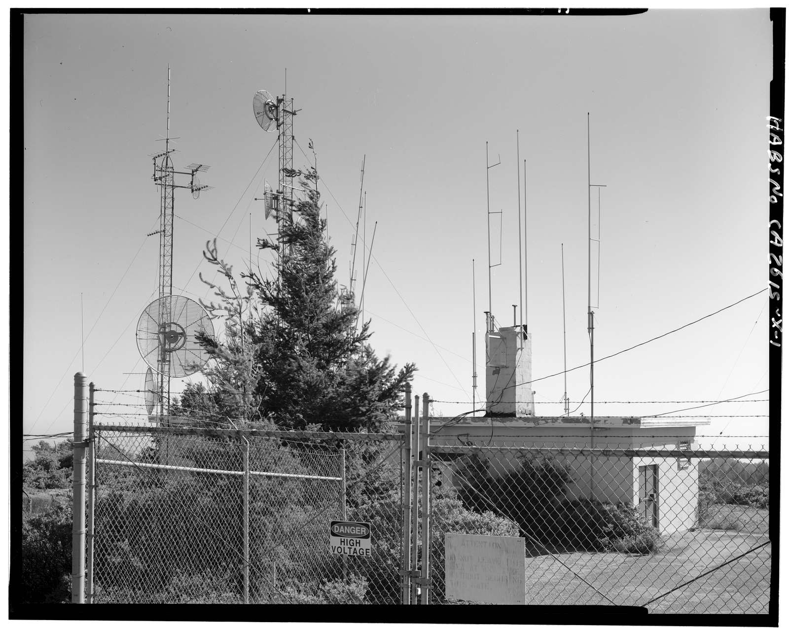 Mill Valley Air Force Station, Civil Engineering Storage, East Ridgecrest Boulevard, Mount Tamalpais, Mill Valley, Marin County, CA