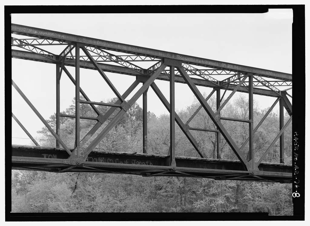 Missouri & North Arkansas Railroad Bridge, Spanning Middle Fork Little Red River, Shirley, Van Buren County, AR