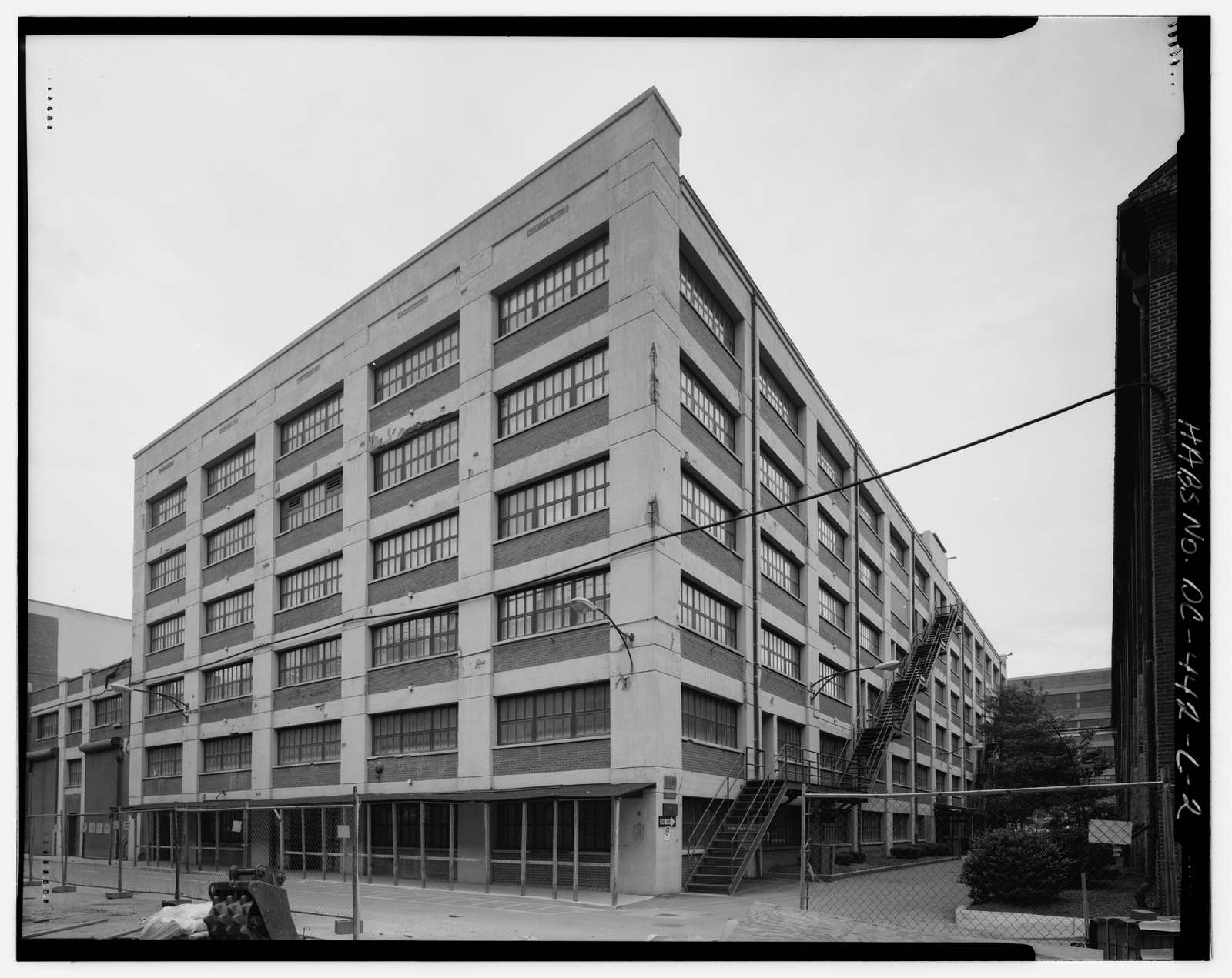 Navy Yard, Building No. 143, Between Isaac Hull & Patterson Avenues, Washington, District of Columbia, DC
