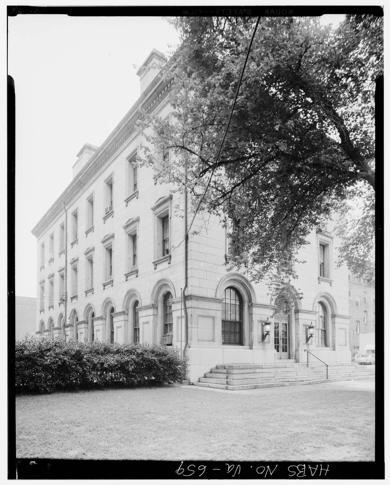 Old U.S. Customs House & Post Office, 129-141 North Union Street, Petersburg, Petersburg, VA
