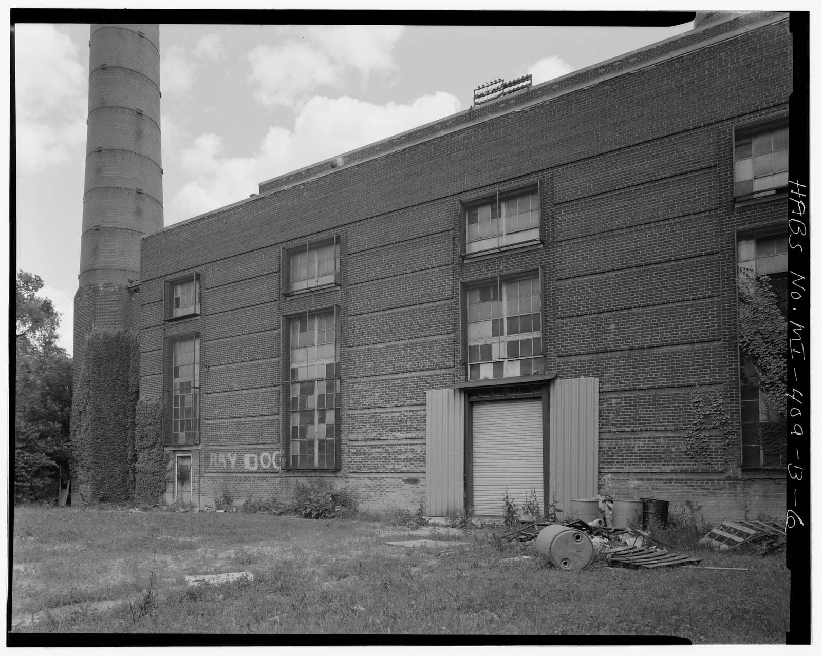 Parkside Homes & Addition, Central Heating Plant, Behind 12515 East Warren Avenue, Detroit, Wayne County, MI