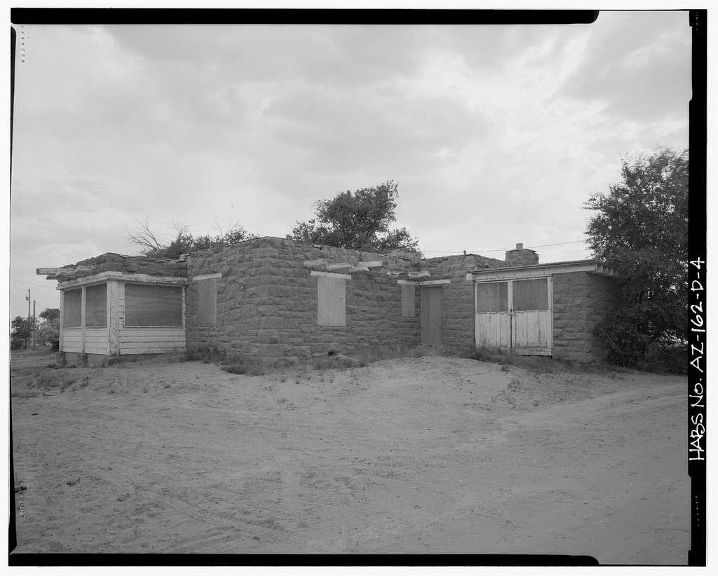Pinon Boarding School, Residence, Navajo Route 41, North of Navajo Route 4, Pinon, Navajo County, AZ