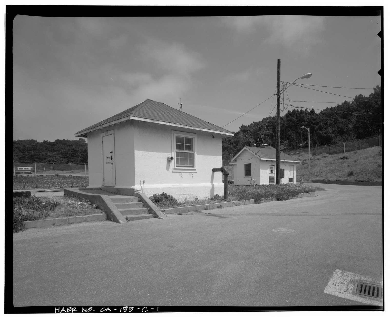 Presidio Water Treatment Plant, Valve House, East of Lobos Creek at Baker Beach, San Francisco, San Francisco County, CA