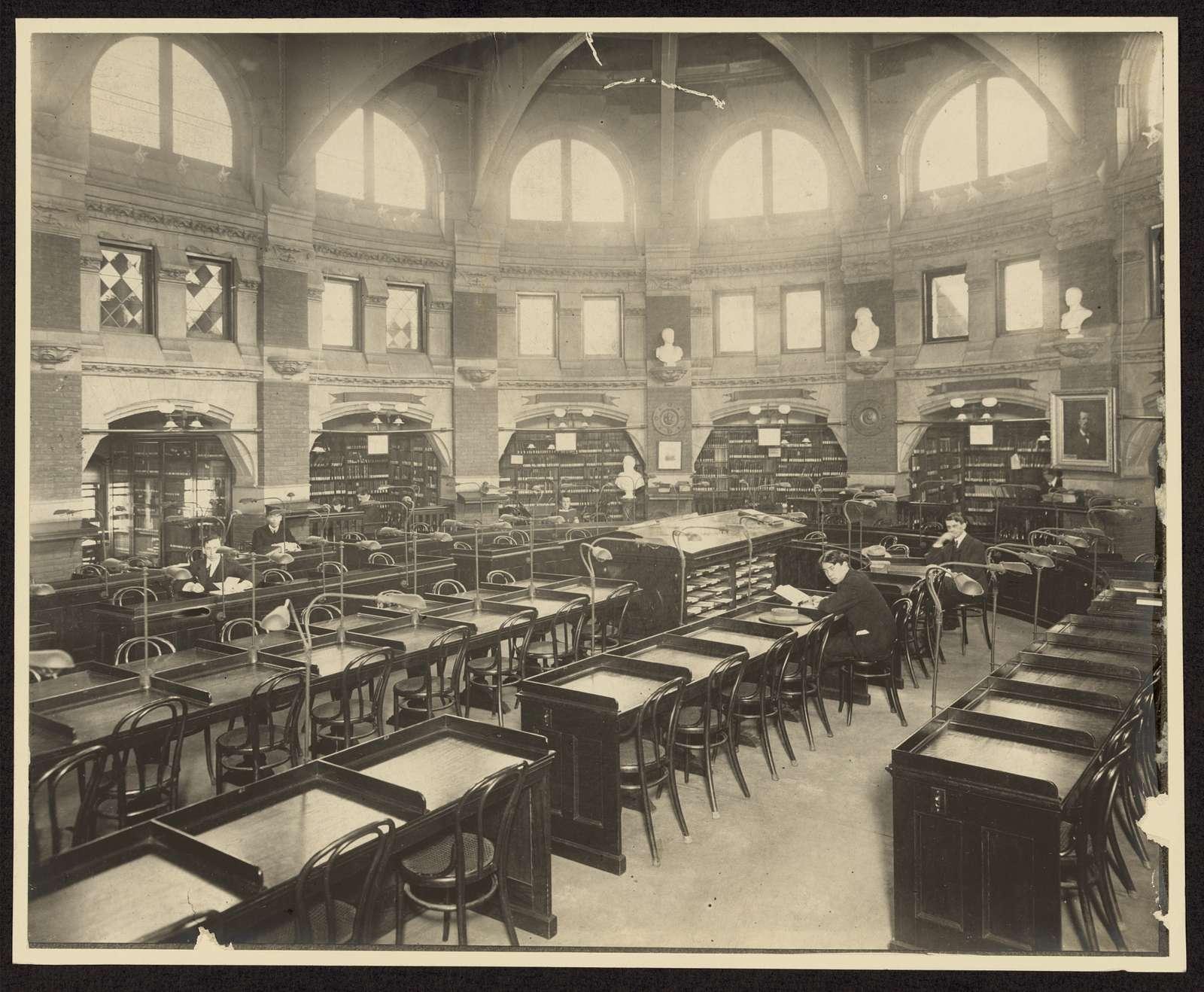 [Reading room, University of Pennsylvania Library, Philadelphia, Pennsylvania]