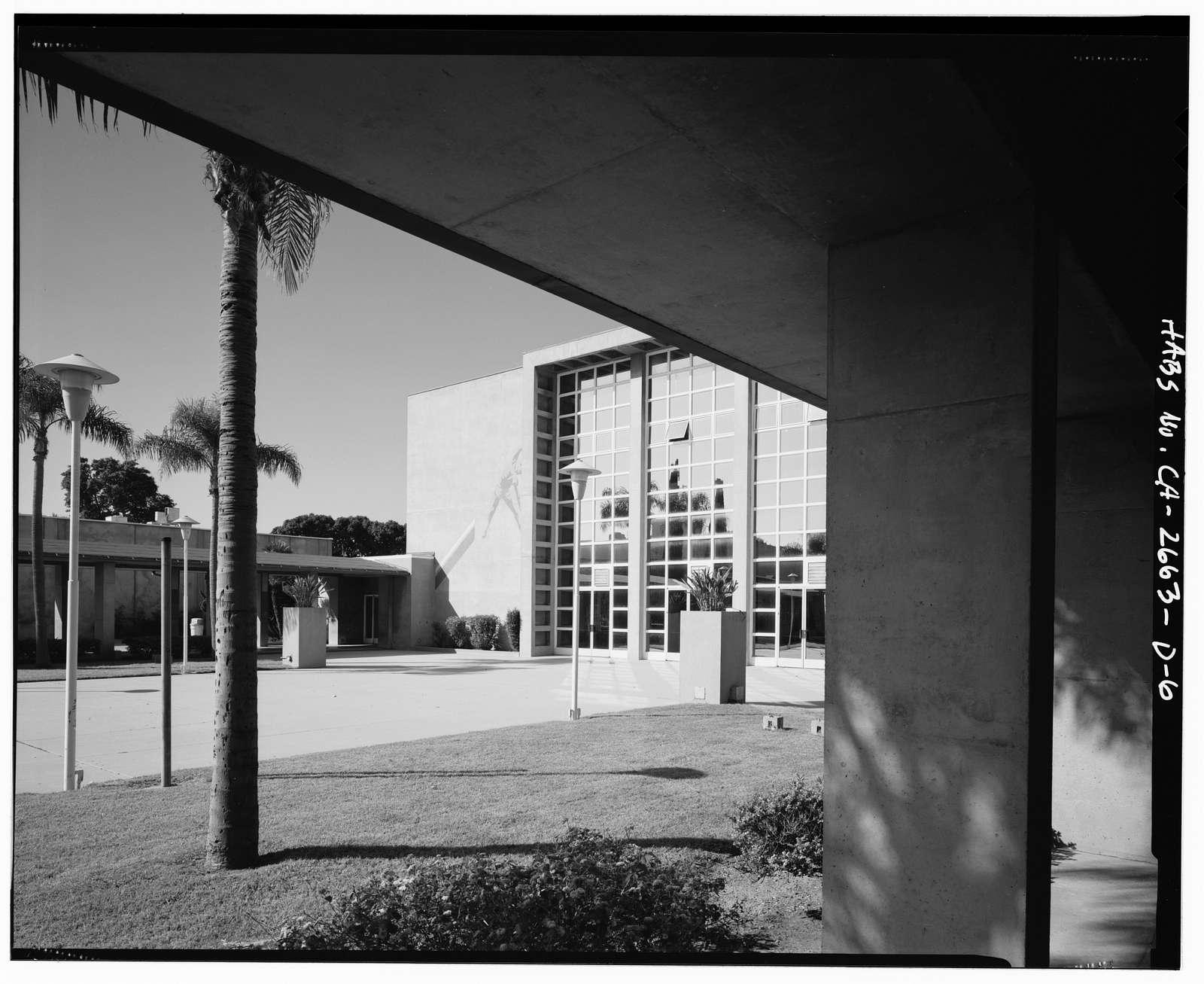 Roosevelt Base, Auditorium-Gymnasium, West Virginia Street between Richardson & Reeves Avenues, Long Beach, Los Angeles County, CA