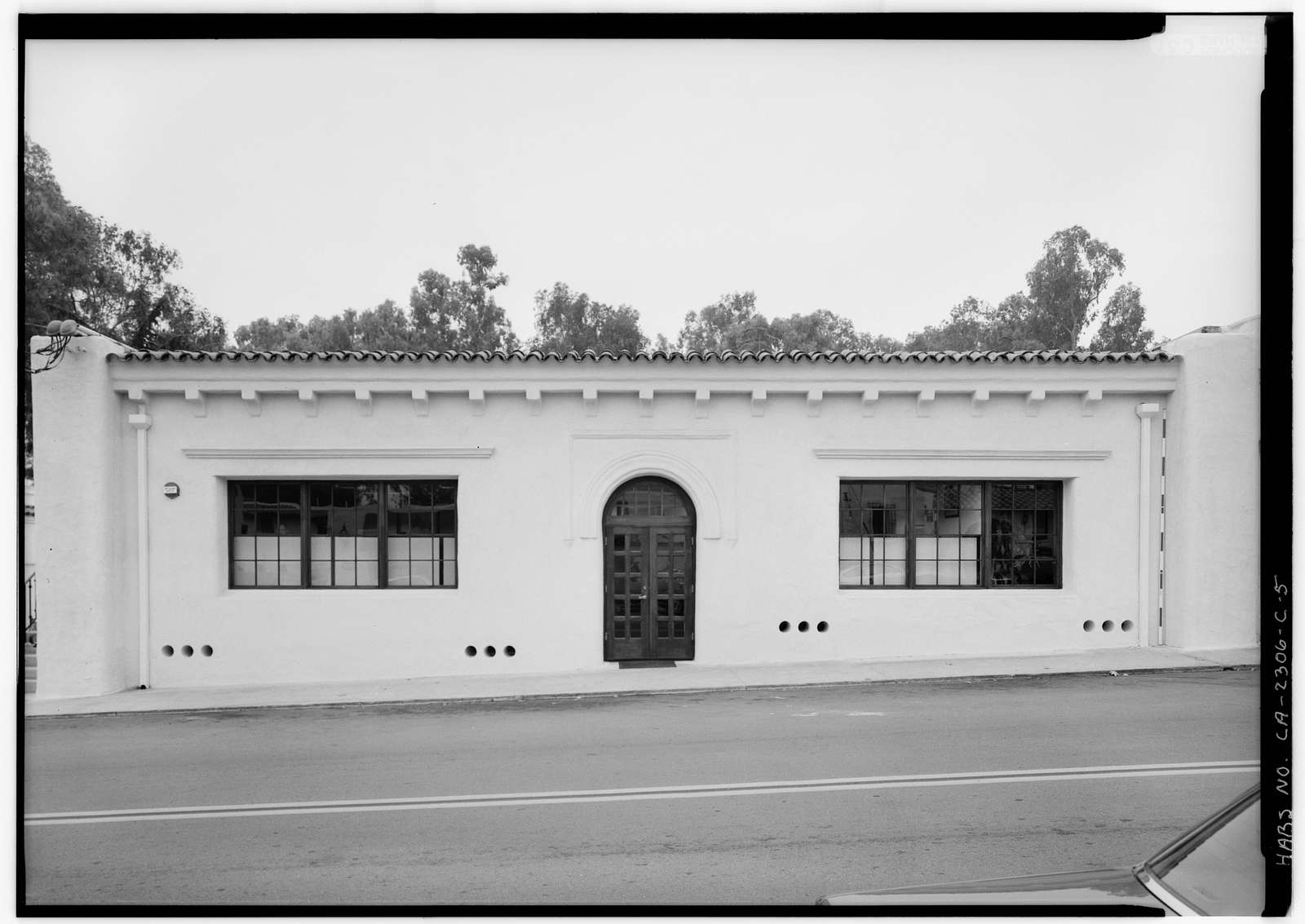 Santa Fe Land Improvement Company, Headquarters Building, 6015 Paseo Delicias, Rancho Santa Fe, San Diego County, CA