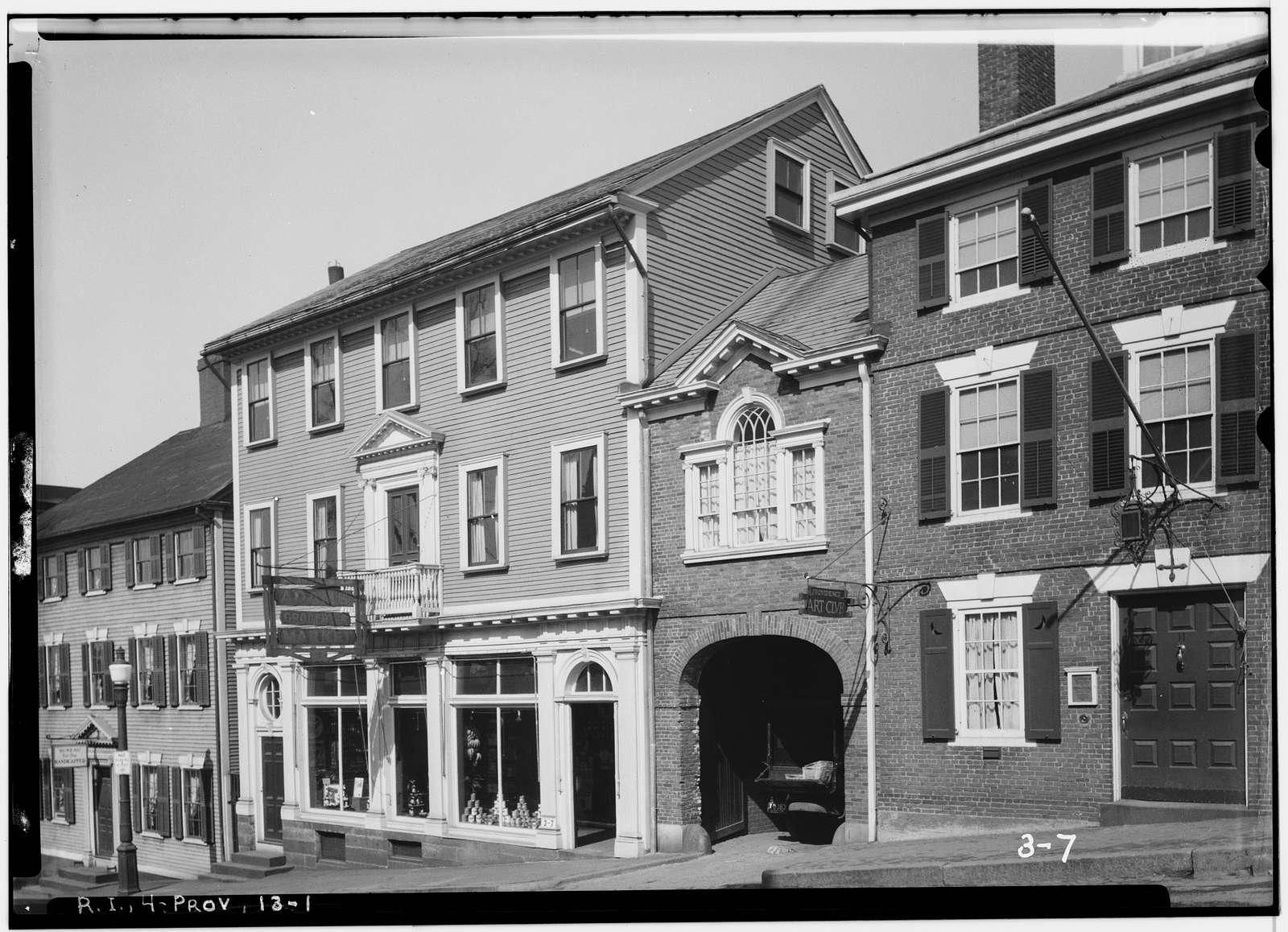 Seril Dodge House, 10 Thomas Street, Providence, Providence County, RI