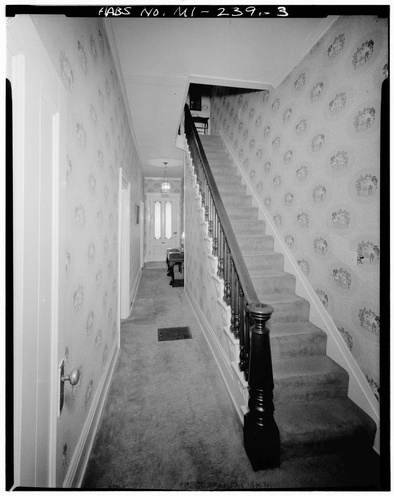 Sidney S. Allcott House, 302 West Mansion Street, Marshall, Calhoun County, MI