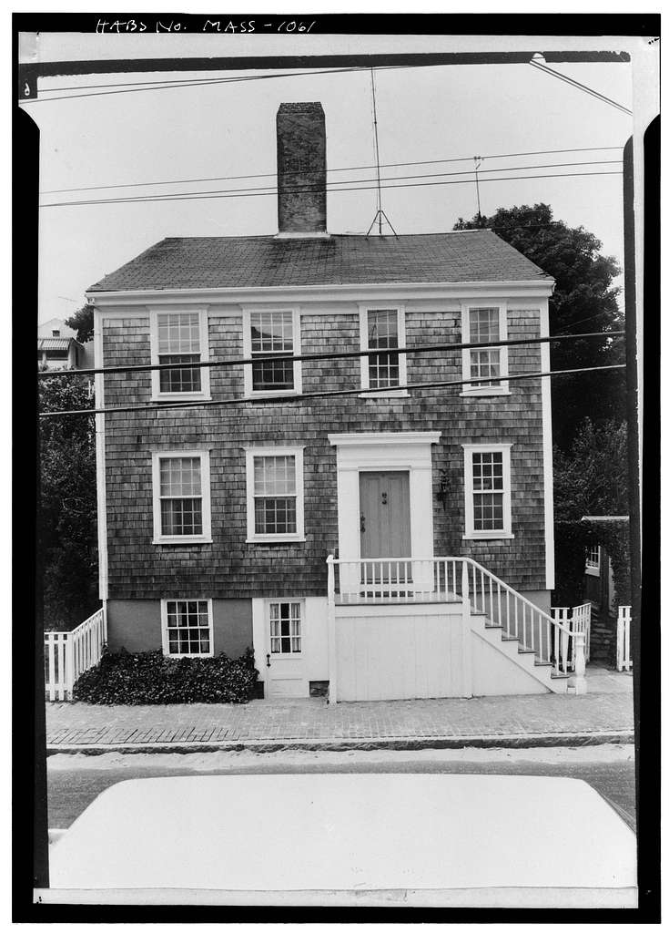 Silvanus Ewer House, 19 Union Street, Nantucket, Nantucket County, MA